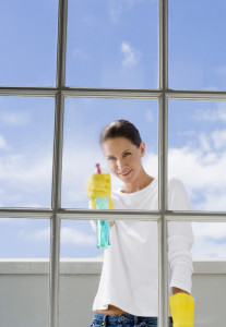 We offer professional window cleaning